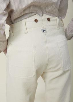 HOLIDAY FP003 / Straight Worker Pants / Ecru Operato 9oz