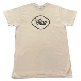 !SALE! BEIM SAUFEN VEGAN T-Shirt (altes Design)