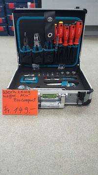 Werkzeugkoffer alu  Pro Compact