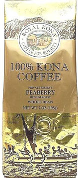 100% Kona Peaberry 7oz