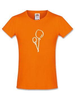 Meisjes T-shirt 'ballon'