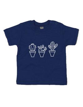 T-shirt Cactussen op een rij