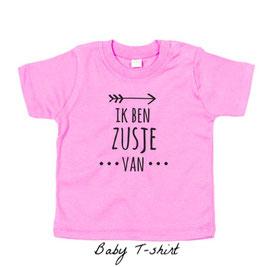 T-shirt 'Ik ben zusje van'