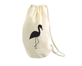 Opbergzak flamingo