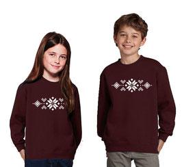 Kerst trui kind > Kerst patroon