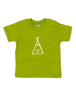 Baby T-shirt 'tipi'