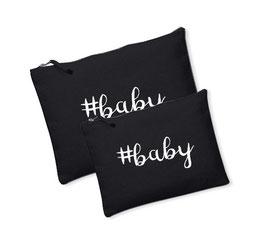 Canvas tasje/Luier etui #baby