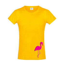 T-shirt Flamingo Roze