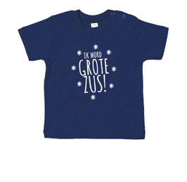 Ik word grote zus - sterren T-shirt
