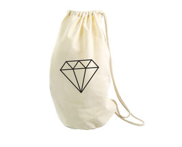 Opbergzak diamant
