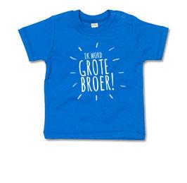 Ik word grote broer - strepen T-shirt