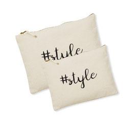 Canvas tasje/Luier etui #style