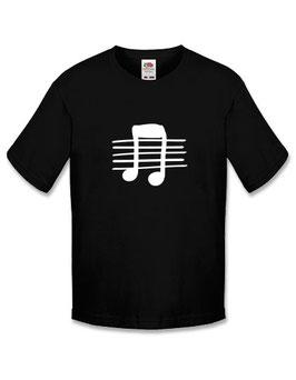 Jongens T-shirt 'muziek'