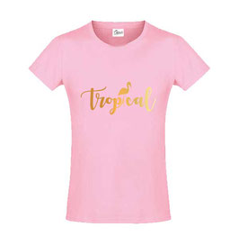 T-shirt Tropical Gold