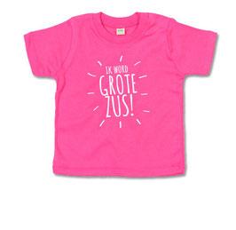 Ik word grote zus - strepen T-shirt