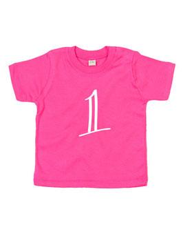 Baby T-shirt 'één'