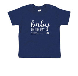 Baby on the way! pijl - T-shirt