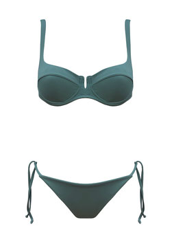 RIVIERA TWO PIECE GREEN