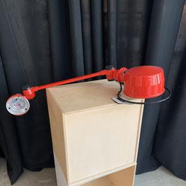 Jielde Wandleuchte LAK (L4001X), Farbe rot glanz (Ausstellungsstück)
