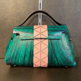 Fuscra Tasche grün-rosa Gr. S