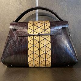 Fuscra Tasche braun-gold Gr.L