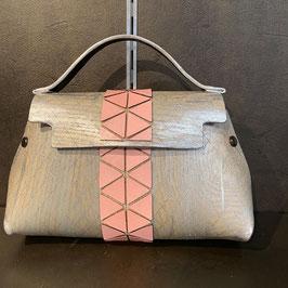 Fuscra Tasche silber-rosa Gr.S