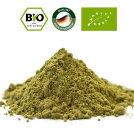 Bio Hanfprotein  feine  Rohkost Qualität in Deutschland hergestellt.