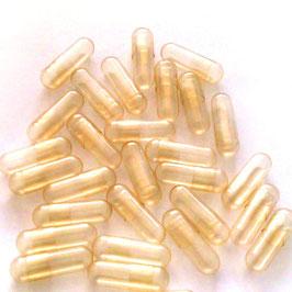 Gelatine Leerkapseln Größe 0 aus 100 % hochwertiger Rindergelatine.  Kosher & Halal zertfiziert