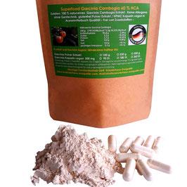 Garcinia Cambogia geprüfte Rohkost Premium Qualität  Nährstoff schonend verarbeitet