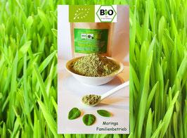 Bio Gerstengras Pulver naturrein in Rohkost Premium Qualität aus D &  A