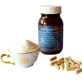 Collagen Kapseln 100 % reines Hydrolysat für hohe Bio Verfügbarkeit 500 mg. Hochwertige Kapseln in Arzneimittelbuch Qualität