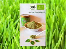Bio Weizengras Pulver naturrein in Rohkost Spitzen Qualität aus Deutschland