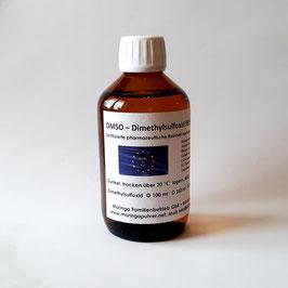 DMSO in pharmazeutische Reinheit nach Europäischem Arzneibuch Pharma Unternehmen aus Deutschland