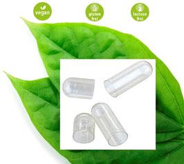 Fix vegetarische Leerkapseln Größe 0 aus HPMC  (Hydroxypropylmethylcellulose) führender Hersteller für Medizin Produkte