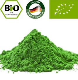 Bio Green Power Mix  Pulver 100 % naturrein. Deutsche Bio Verarbeitung