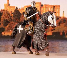 R02 Kreuzritter Hospitaller Deagostini Ritterfigur MOUNTED KNIGHT Caballeros de la Edad Media Tempelritter Altaya Frontline Sammlerfigur