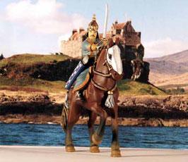 R13. Goldene Horde Kämpfer , XIII Ritter des Mittelalters Ritterfigur Kreuzritter Altaya DeAgostini Frontline