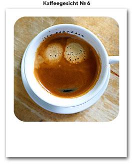 Kaffeegesicht No. 6
