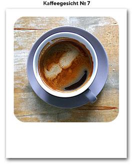Kaffeegesicht No. 7