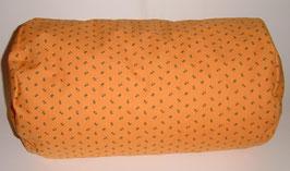 Nacken-/Venenrolle 40 x 20 cm Landhaus orange