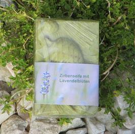 100 g Zirbenseife mit Lavendelblüten aus der Provence