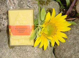 """100 g Zirbenseife """"Sonne"""" mit 100% reinem Zirben- und Orangenöl"""