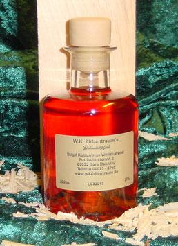 Zirbenlikör 200 ml (Sonderedition rund)