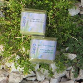 2 x 50 g (2 Stück Gästeseifen - Baum des Lebens) mit Lavendelblüten aus der Provence