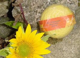 """80 g Zirbenseife """"Sonne"""" rund mit 100% reinem Zirben- und Orangenöl"""