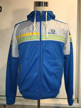 SERGIO TACCHINI FULL ZIP HOODED JACKET BLUE