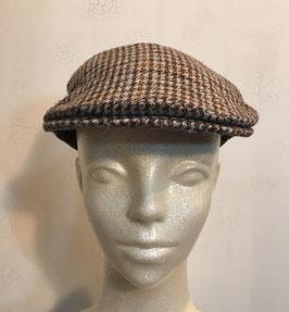BARBOUR TWEED FLAT CAP