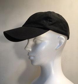 BARBOUR WAXED COTTON CAP BLACK