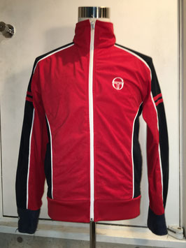 SERGIO TACCHINI  VELOUR TRACK TOP RED