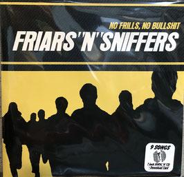 """""""NO FRILLS,NO BULLSHIT  限定版"""" FRIARS 'N' SNIFFERS"""
